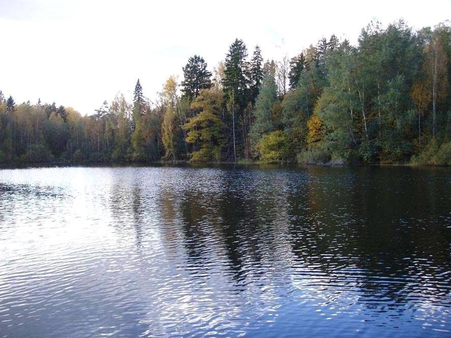 Рис. 2 - Озеро – источник воды