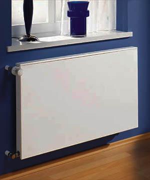 Стальные панельные радиаторы отопления без ребер