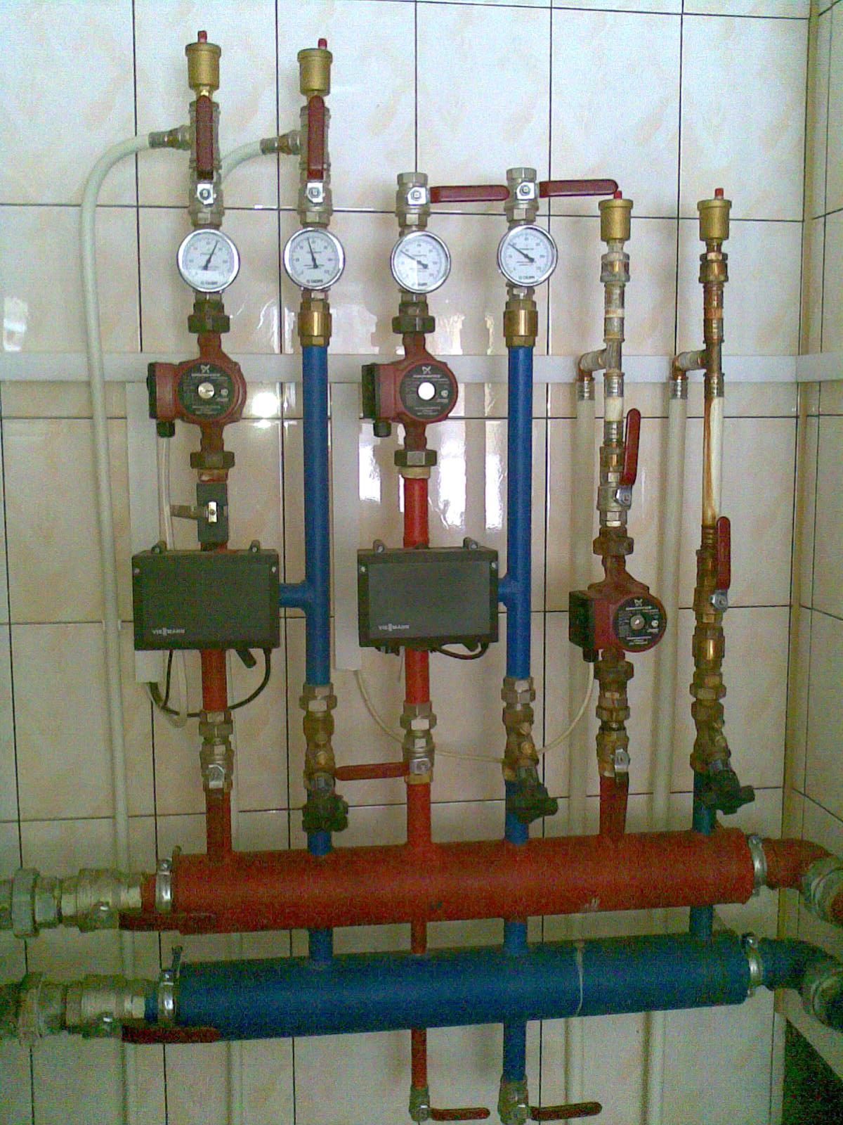 Пример монтажа автономной системы отопления