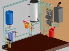 Система водоснабжения внутри помещения