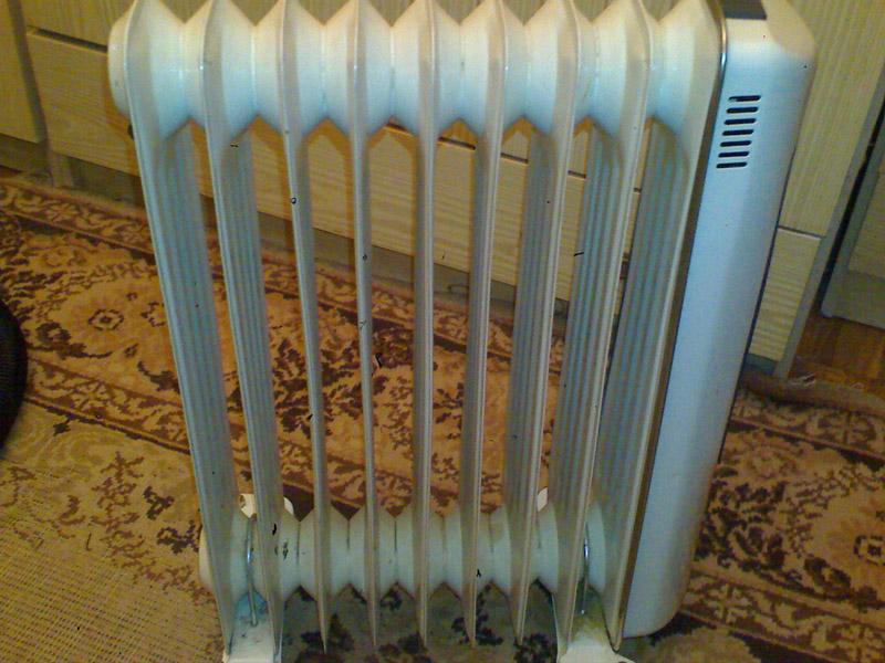 Электрический радиатор для отопления дачи