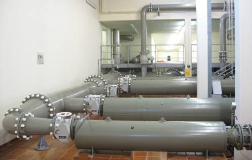 Система противопожарного водоснабжения на предприятии
