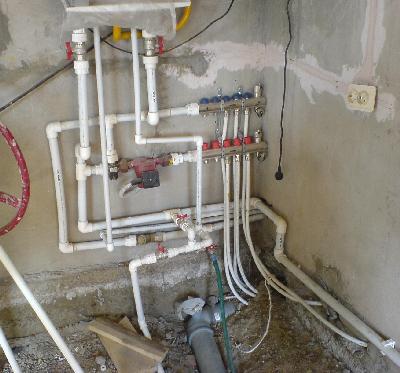 Разводка воды в доме своими руками