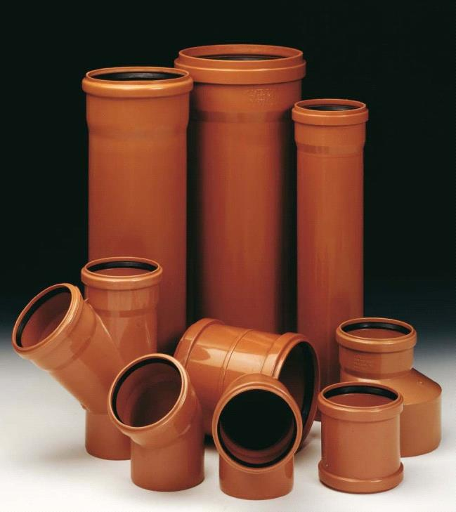 трубы и фитинги для системы канализации