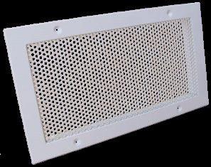 Прямоугольная решетка для воздушного отопления