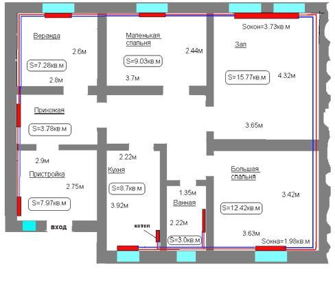типы схема системы отопления жилых многоквартирных домов.