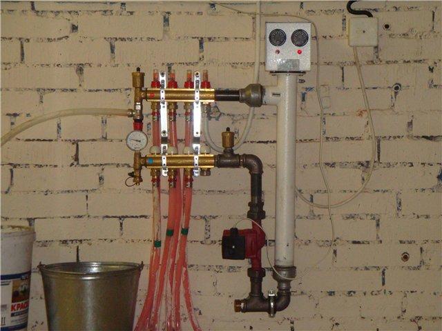 Теплоноситель для систем отопления своими руками