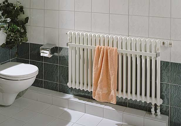 Радиатор отопления с полотенце сушителем