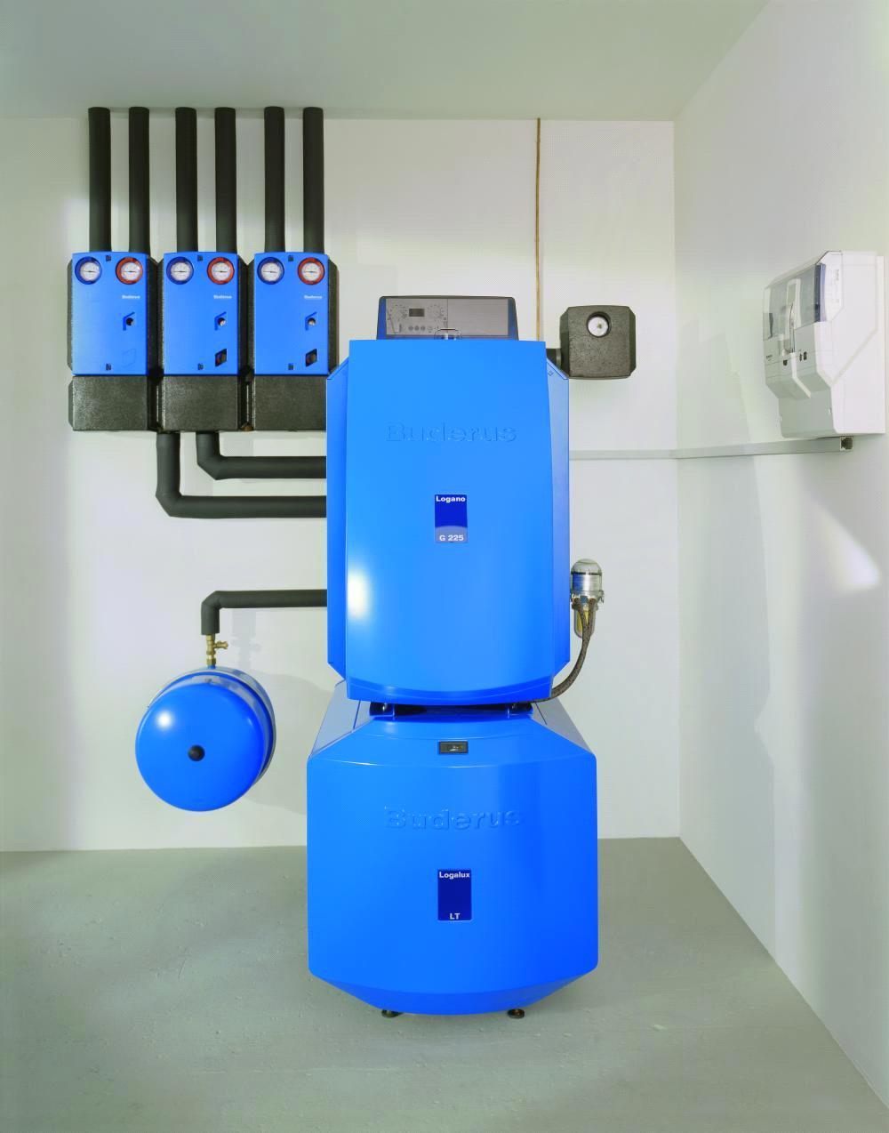 Система автономного газового отопления