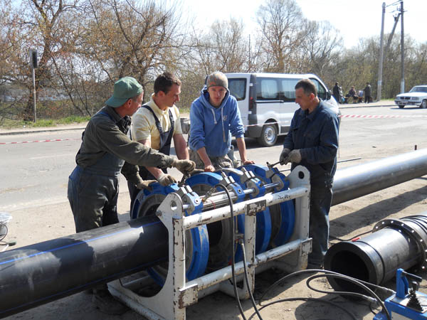 Труба водоснабжения