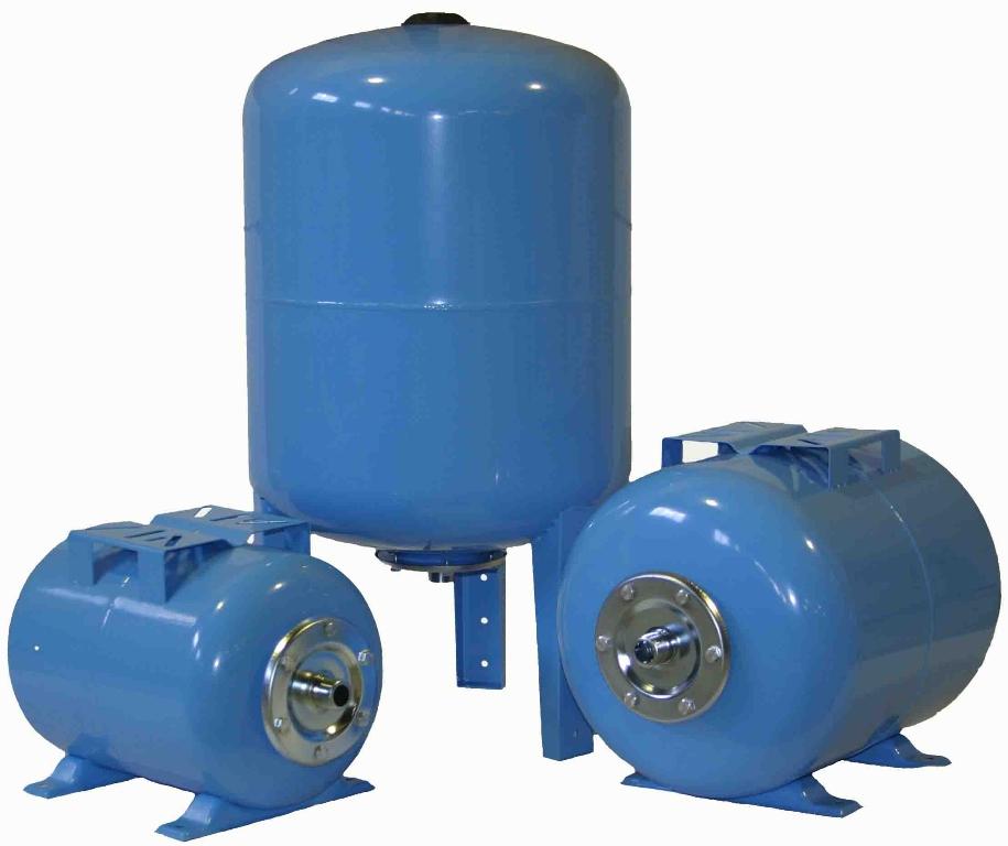 Виды гидроаккумуляторов для водоснабжения