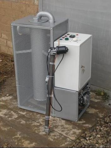 Отопление гаража отработкой