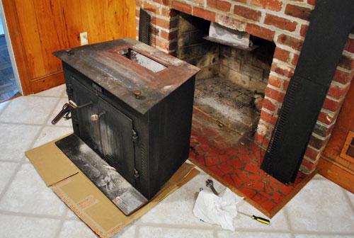 Как сделать камин из печки: полезный ремонт