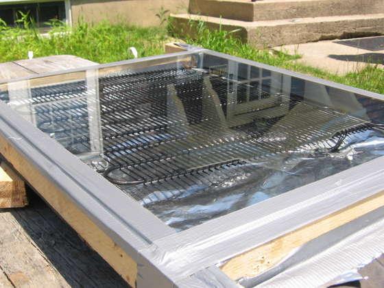 Солнечные панели для нагрева воды своими руками