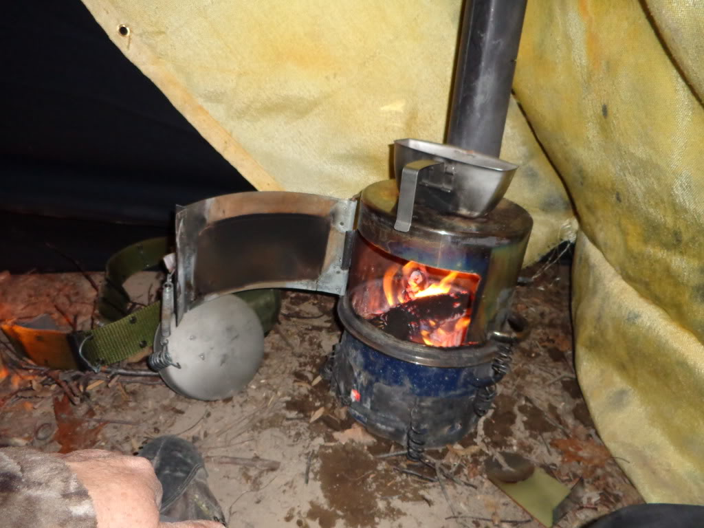 Самодельные печки для палаток