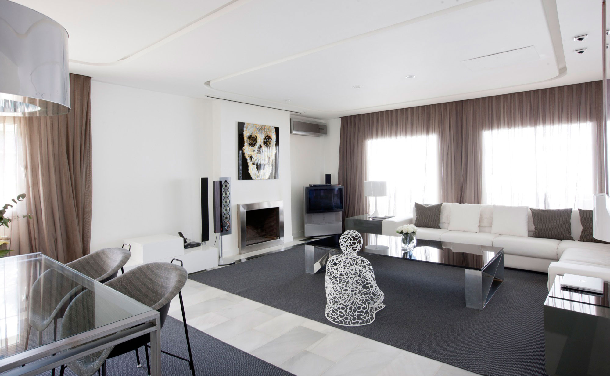Cheap apartment living: living room apartments kitchen interior ...