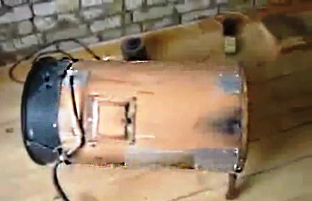 Как сделать газовую тепловую пушку самому