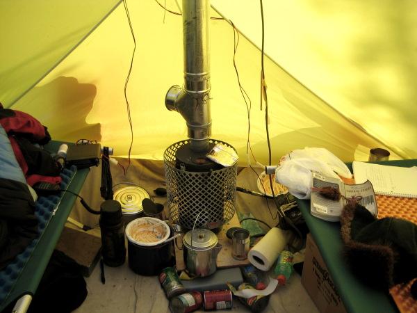 Печки для палаток своими руками фото