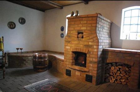 Печь с лежанкой и варочной плитой: порядовка - 1PoKirpichy ru