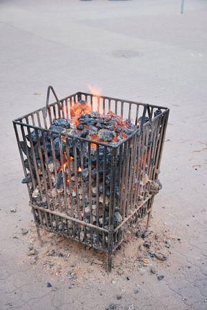 Уличная печь-мангал