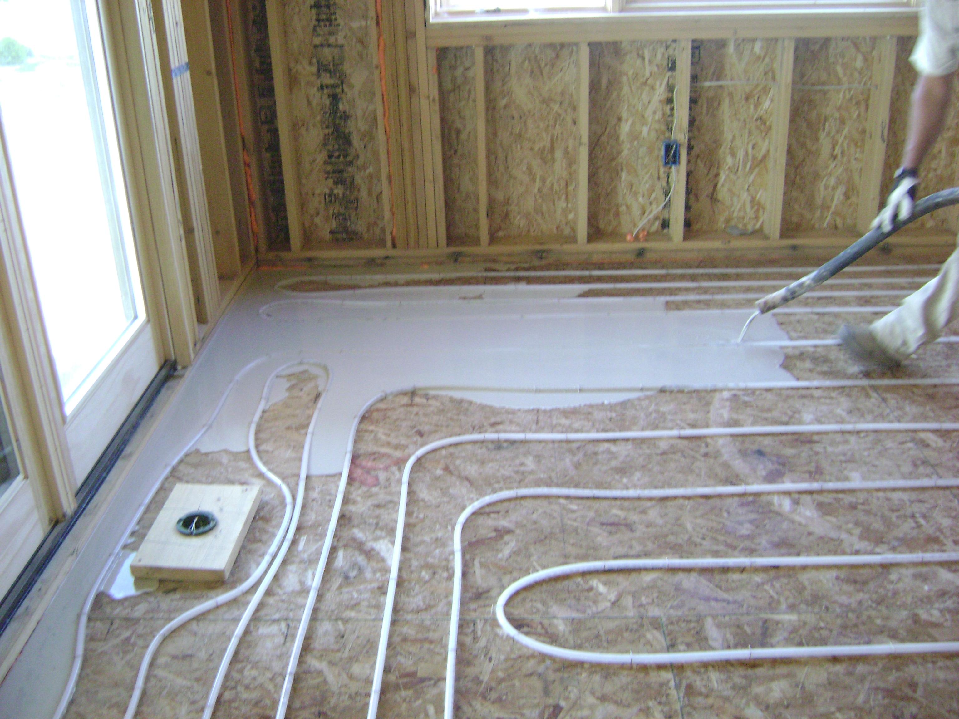 Электрический теплый пол под плитку своими руками монтаж