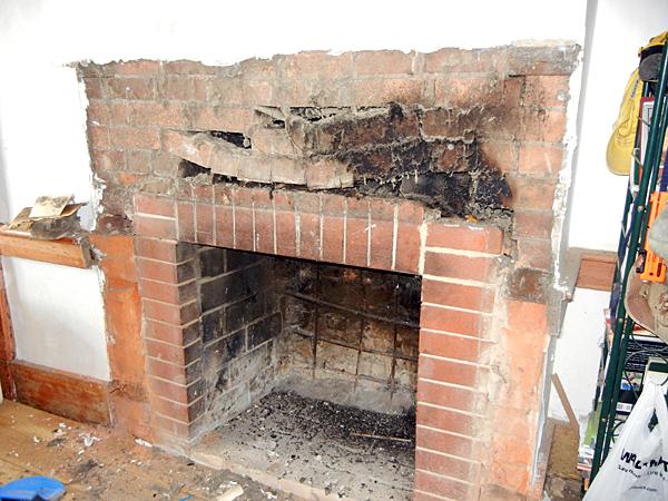 Печь нуждается в ремонте