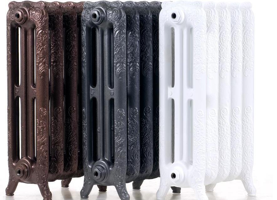 Установка чугунного радиатора отопления 109