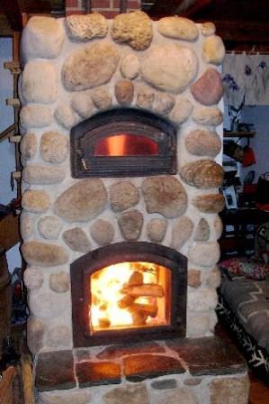 камин для отопления каркасного дома